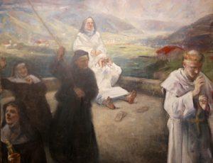 """Vebjørn Sand: """"På taket av Karmelittklosteret"""""""