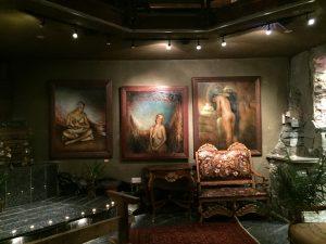 Fra utstillingen i Galleri Nygaten
