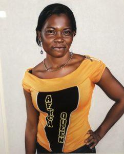 African Queen 2008 Del av et triptykon
